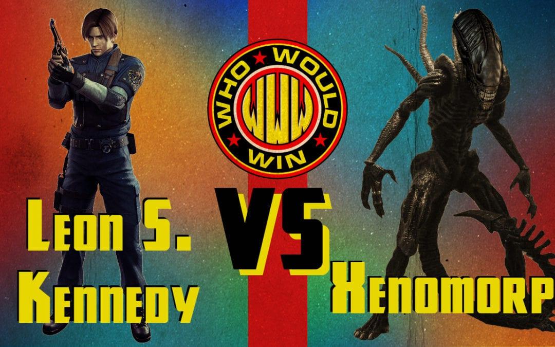 Leon S Kennedy vs Xenomorph