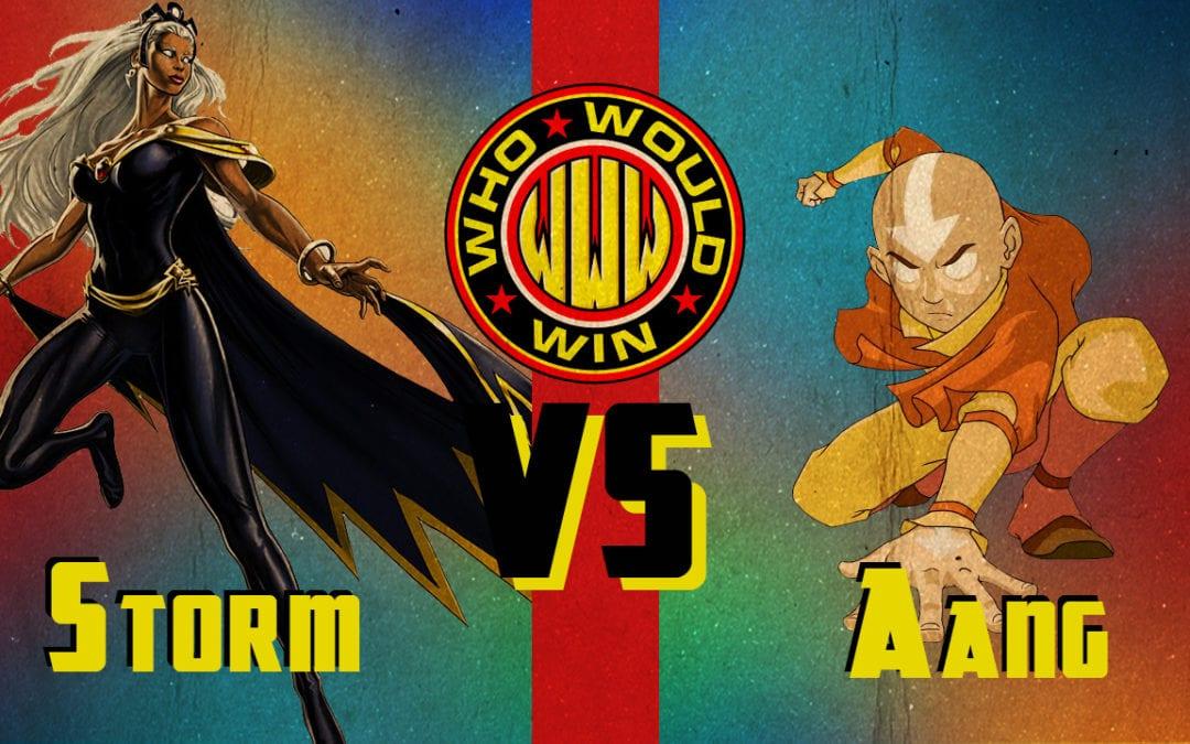 Storm vs Aang