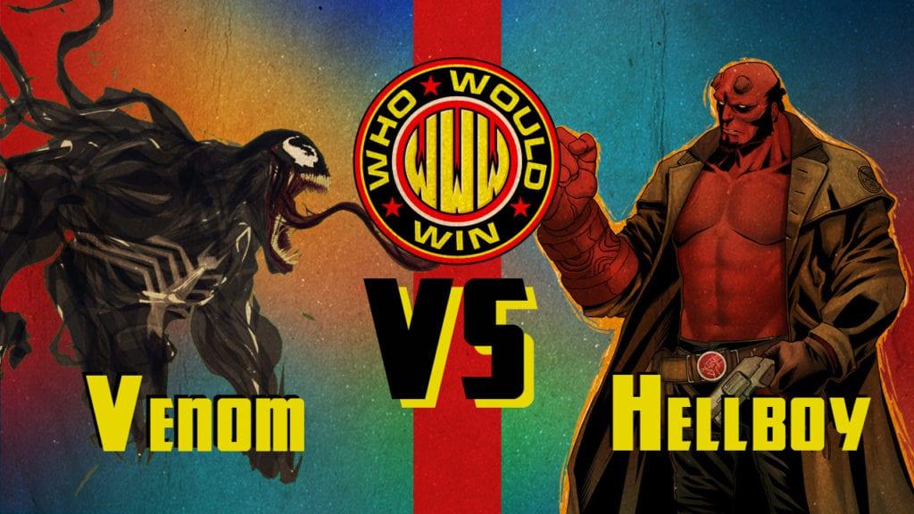 venom vs hellboy